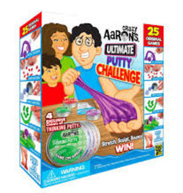 Crazy Aaron's Thinking Putty Ultimate Putty Challenge Game