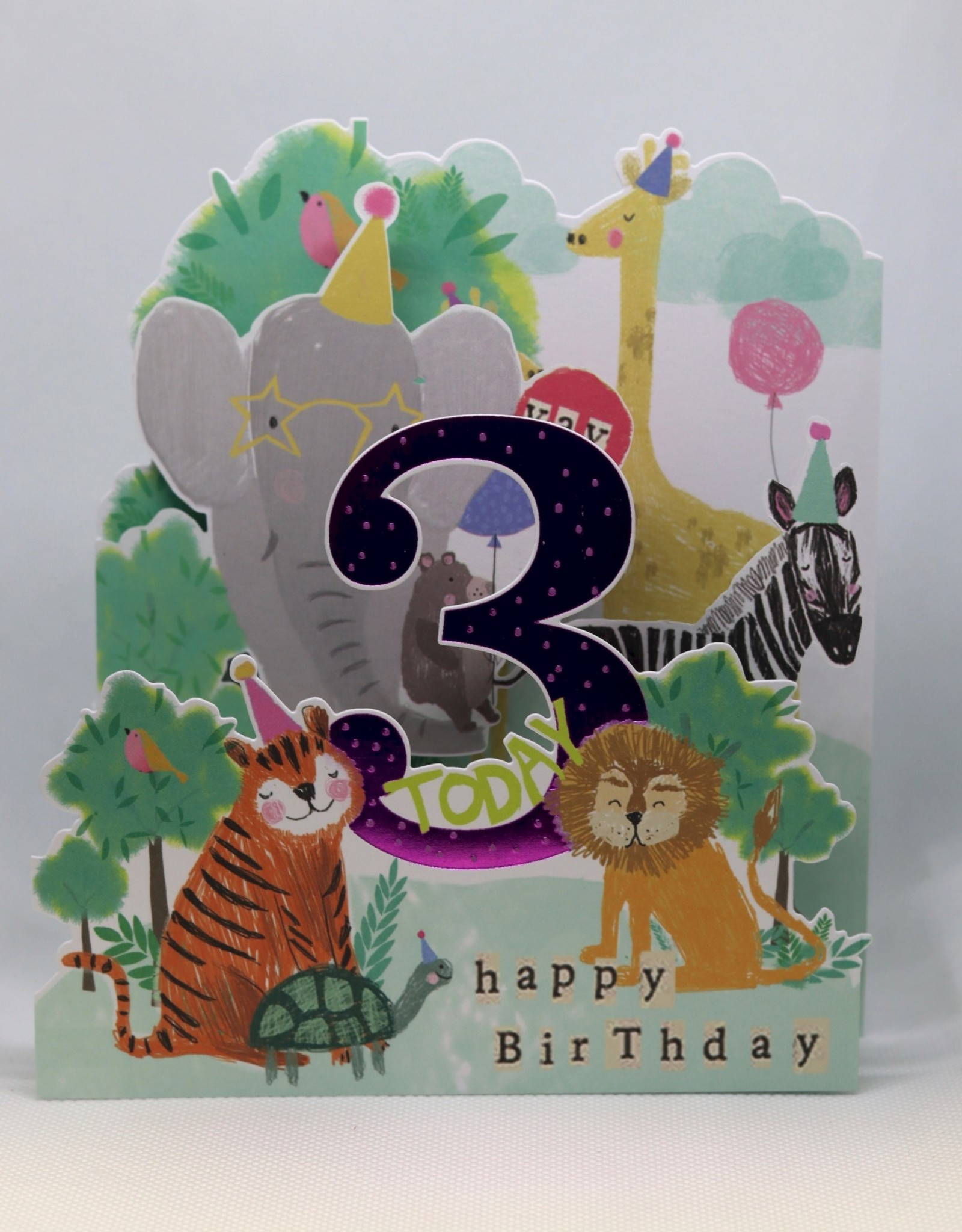 Paperlink Bday Card 03, Animals