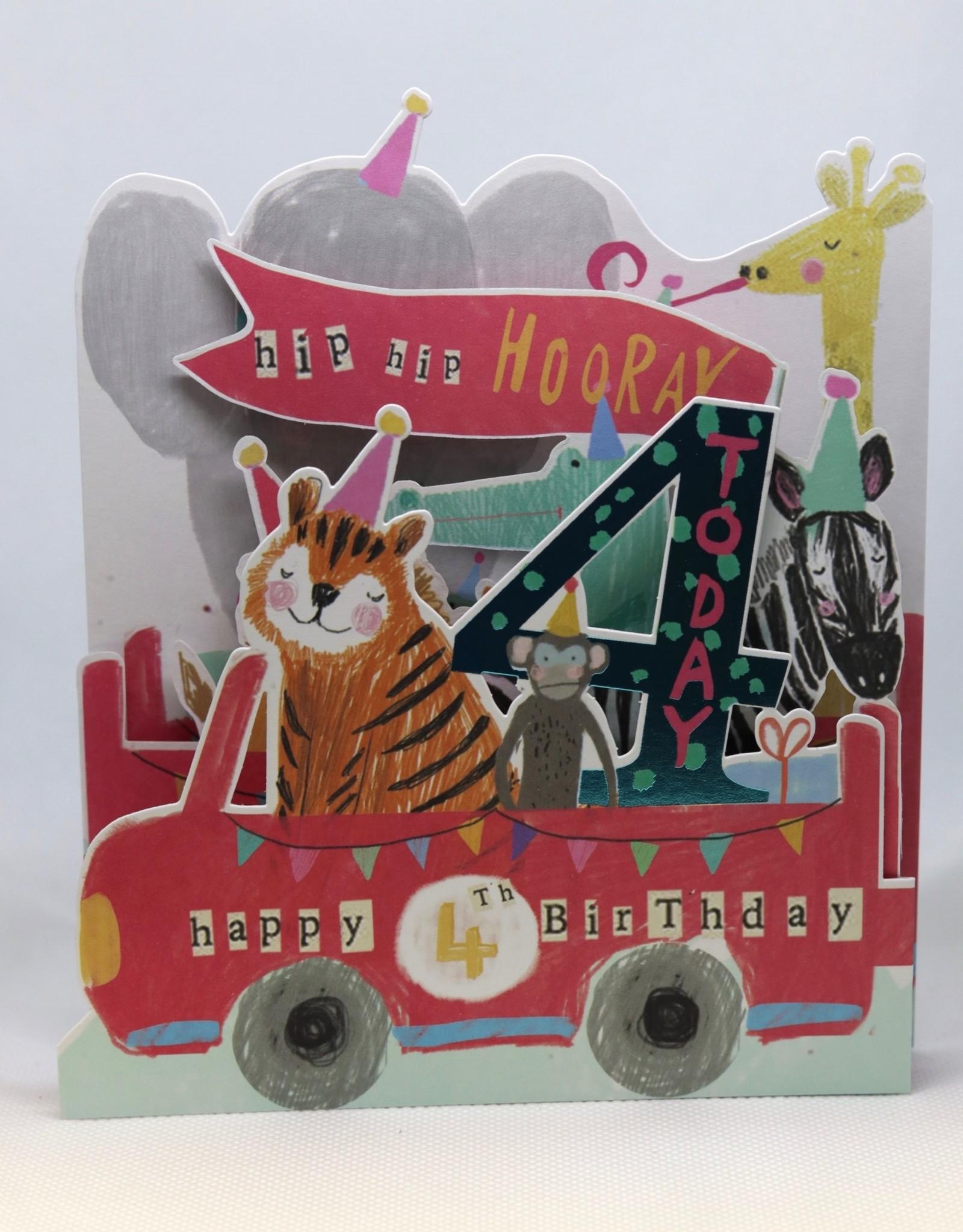 Paperlink Bday Card 04, Animals