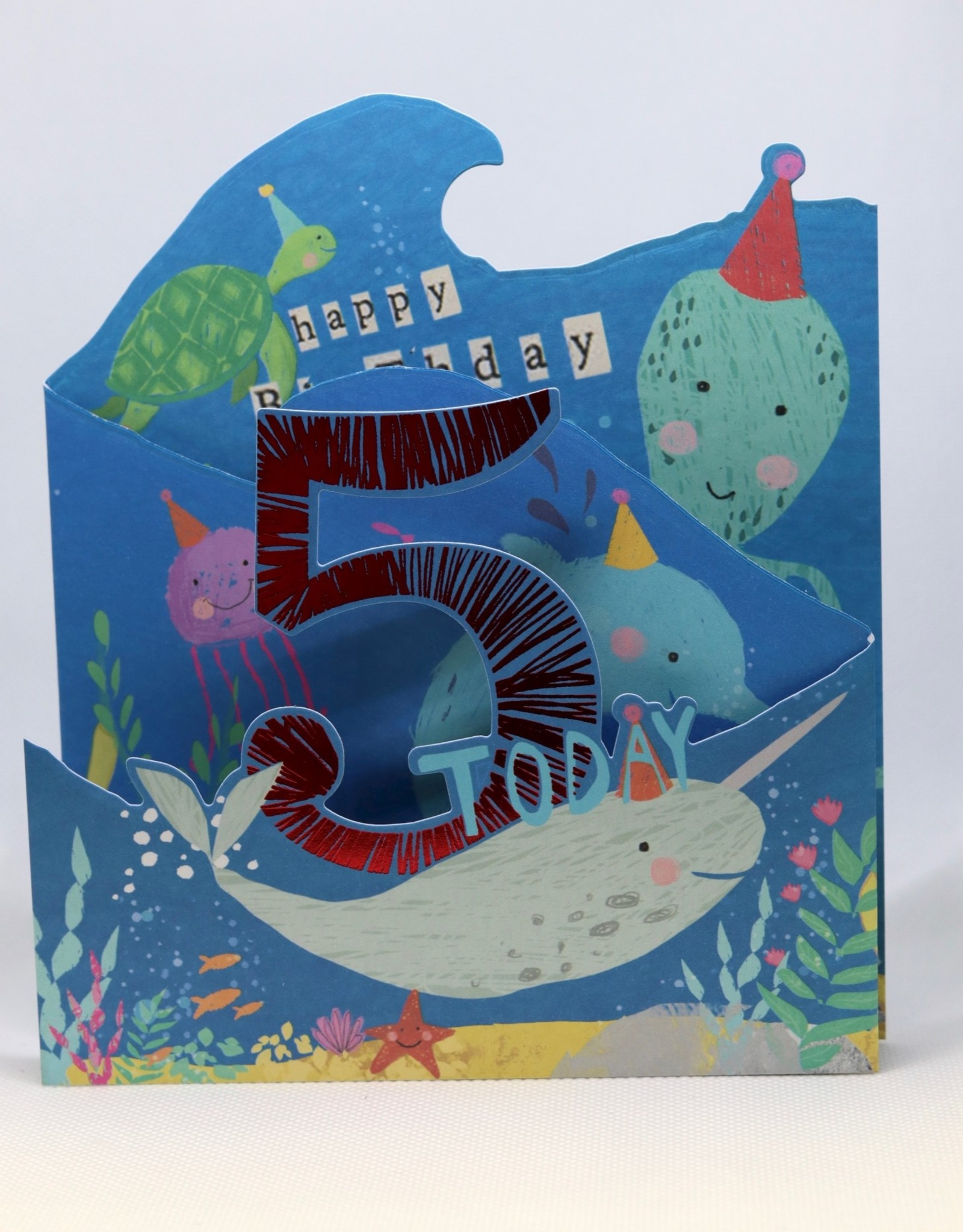 Paperlink Bday Card 05, Under the Sea