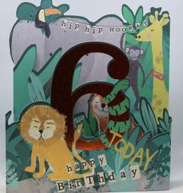 Paperlink Bday Card 06, Jungle