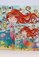 Rachel Ellen Designs Card Jigsaw HB, Mermaid - 7x7