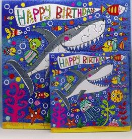 Rachel Ellen Designs Card Jigsaw HB, Under the Sea - 7x7