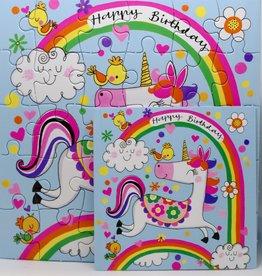 Rachel Ellen Designs Card Jigsaw HB, Unicorn - 7x7