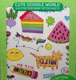 OOLY Tattoo Palooza-Cute Doodle World