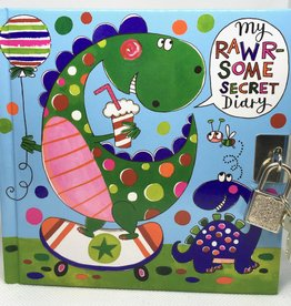 Rachel Ellen Designs Secret Diary Dinosaurs - 6x6