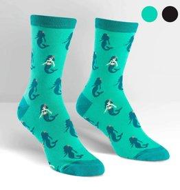 Sock It To Me WOMEN'S CREW: PRINCESS OF THE SEA