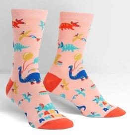 Sock It To Me WOMEN'S CREW: PARTY ANIMAL