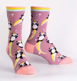 Sock It To Me WOMEN'S CREW: PANDACORN