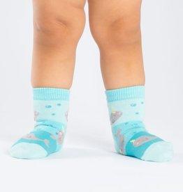Sock It To Me TODDLER CREW: UNICORN OF THE SEA