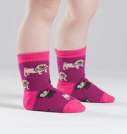 Sock It To Me TODDLER CREW: PUG LIFE