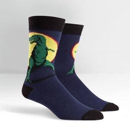 Sock It To Me MEN'S CREW: T-REX