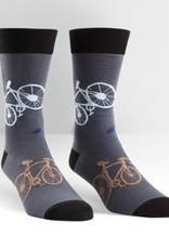 Sock It To Me MEN'S CREW: LARGE BIKES