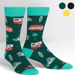 Sock It To Me MEN'S CREW: DAY TRIPPER