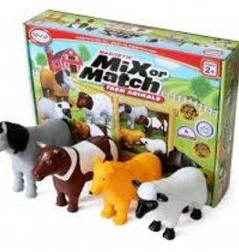 Popular Playthings Mix or Match Farm Animals