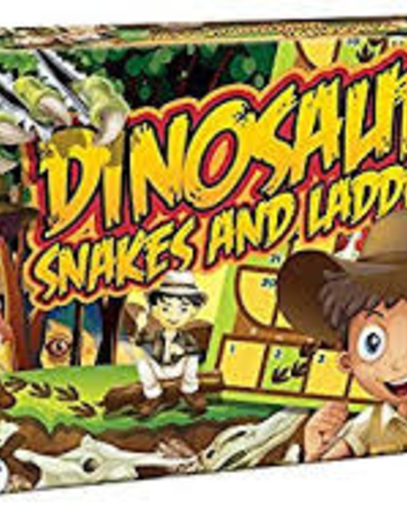 Outset Dinosaur Snakes and Ladders