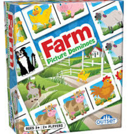 Outset Picture Dominoes: Farm