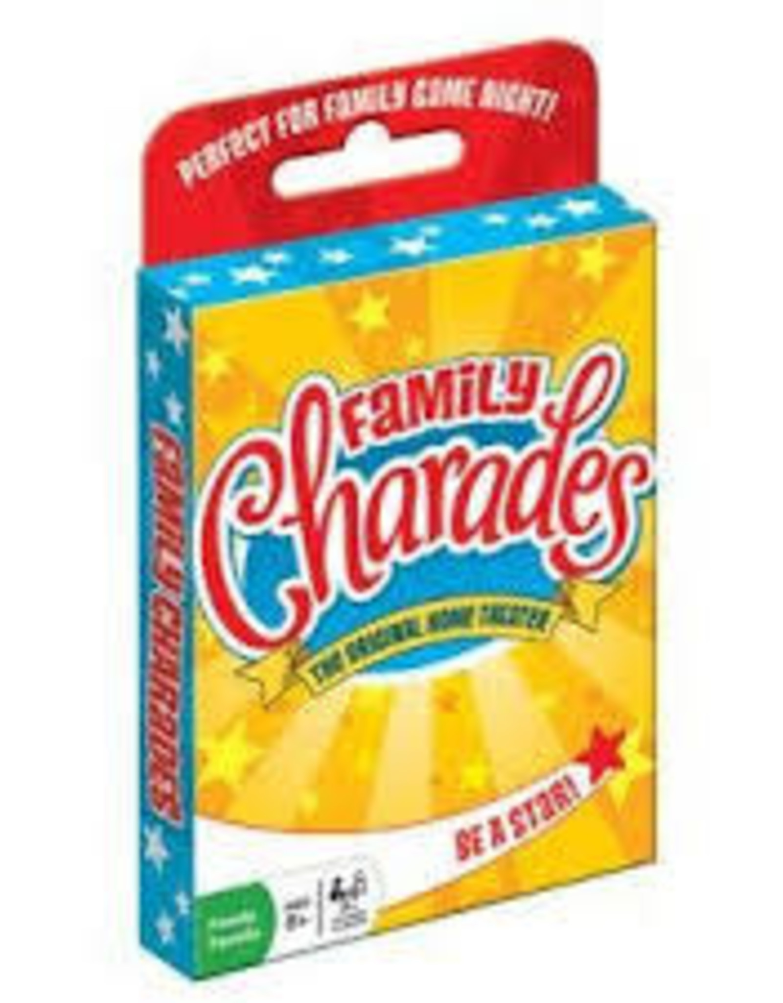 Outset Family Charades Card Game