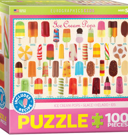 Eurographics Ice Cream Pops 100PC