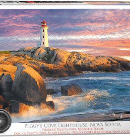 Eurographics Peggy's Cove Lighthouse, Nova Scotia  HDR Photography 1000pc