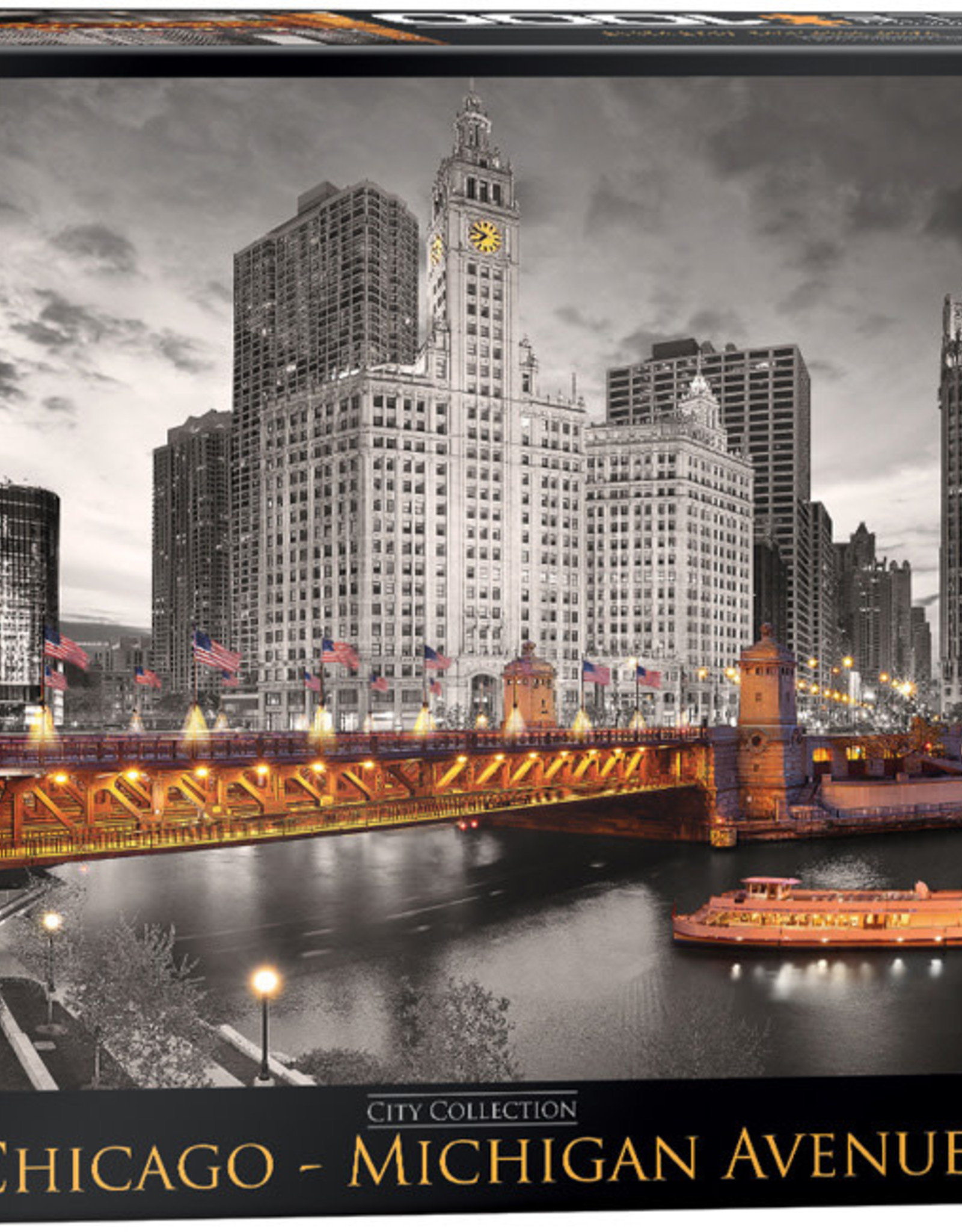 Eurographics Chicago - Michigan Avenue HDR Photography 1000pc