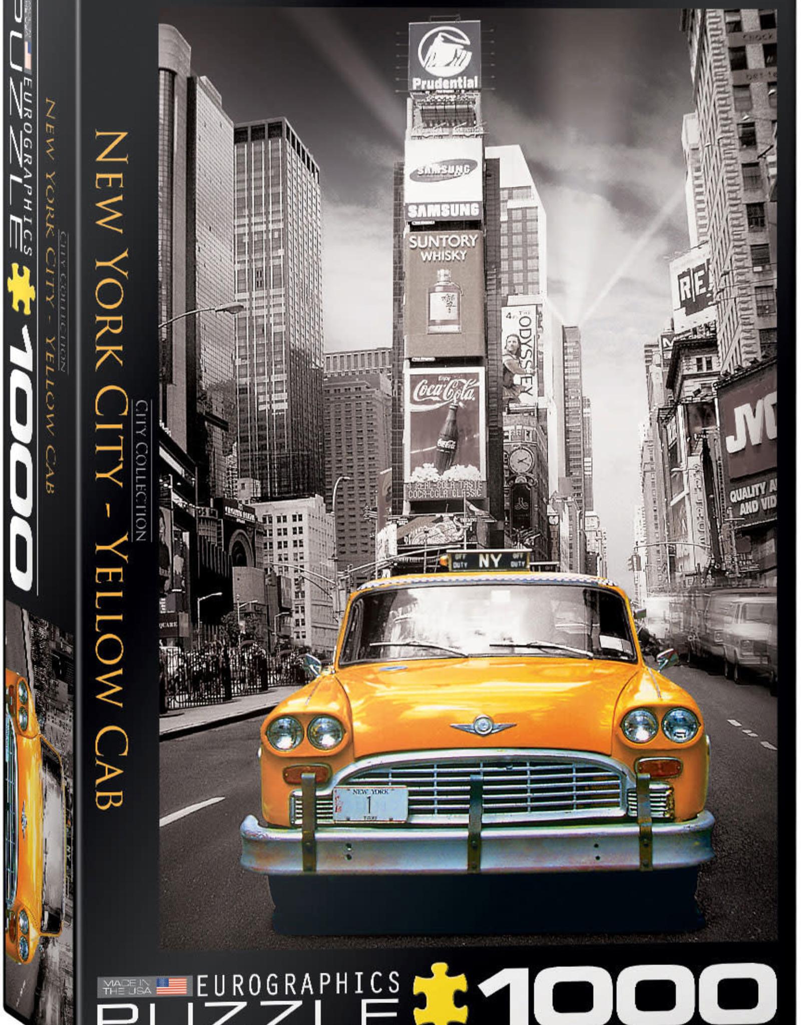 Eurographics New York City - Yellow Cab HDR Photography 1000pc