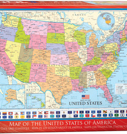 Eurographics Map of the USA 1000pc
