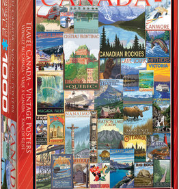 Eurographics Travel Canada 1000pc