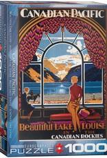 Eurographics Beautiful Lake Louise 1000pc