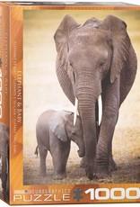 Eurographics Elephant & Baby 1000pc