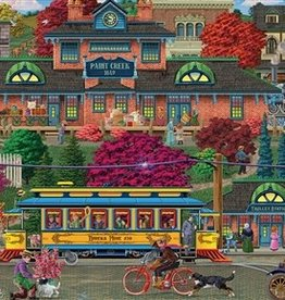 Cobble Hill Trolley Station 500pc