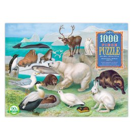 eeBoo BEAUTIFUL WORLD ARCTIC 1000PC PUZZLE