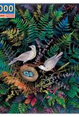 eeBoo BIRDS IN FERN 1000 PC