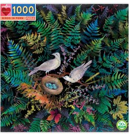 eeBoo BIRDS IN FERN 1000 PC