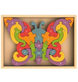 BeginAgain Butterfly A - Z Puzzle