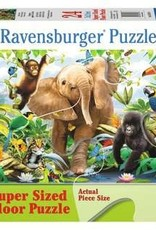 Ravensburger Jungle Juniors 24 Pc Floor Puzzle