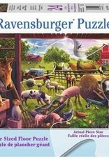 Ravensburger Animals of Bells Farm 24 Pc Floor Puzzle