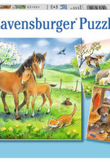 Ravensburger Cuddle Time 3 x 49 Pc