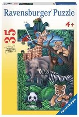 Ravensburger Animal Kingdom 35 Pc Puzzle
