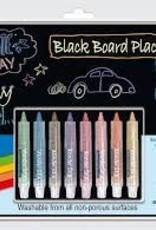 "Black Board Placemat Kit (8.5""X12"")"