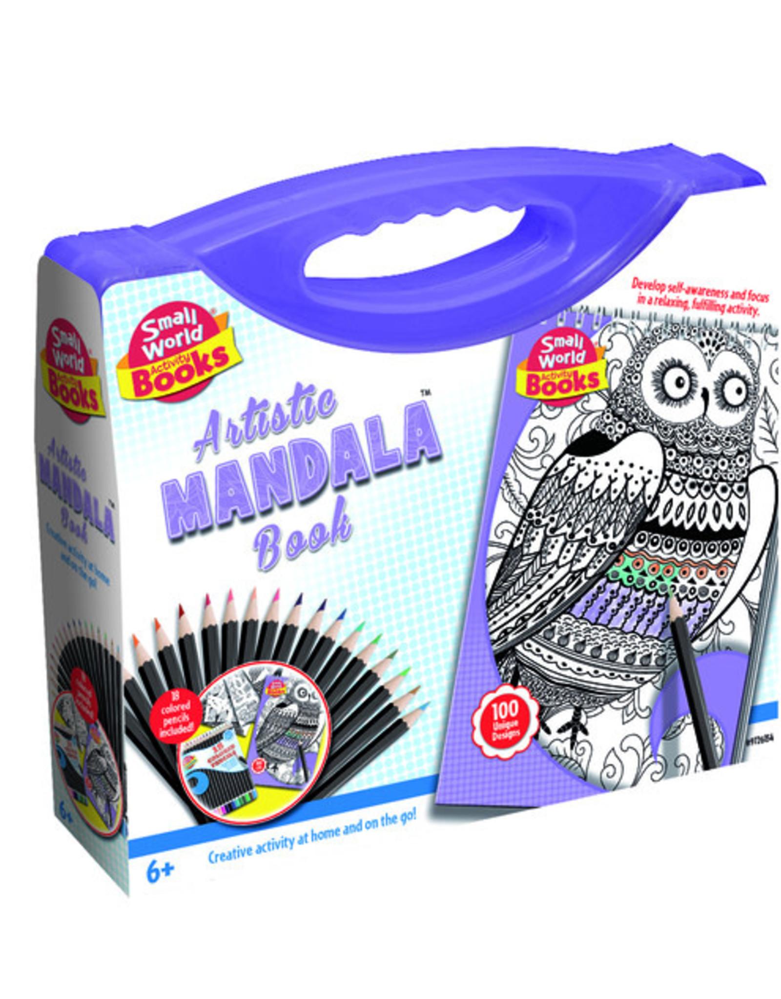 Artistic Mandala Book