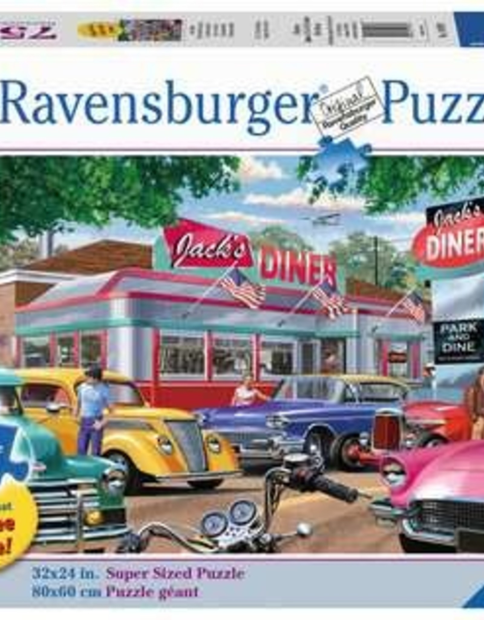 Ravensburger Meet you at Jack's (750 Pc Large Format)