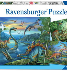Ravensburger Dinosaur Fascination 3x49 Pc