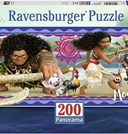 Ravensburger Moana's Adventures (200 pc Panorama)