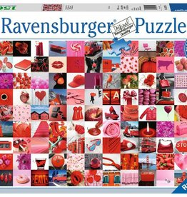 Ravensburger 99 Beautiful Red Things (1500 Pc)