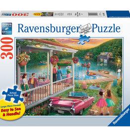 Ravensburger Summer At The Lake 300 Pc