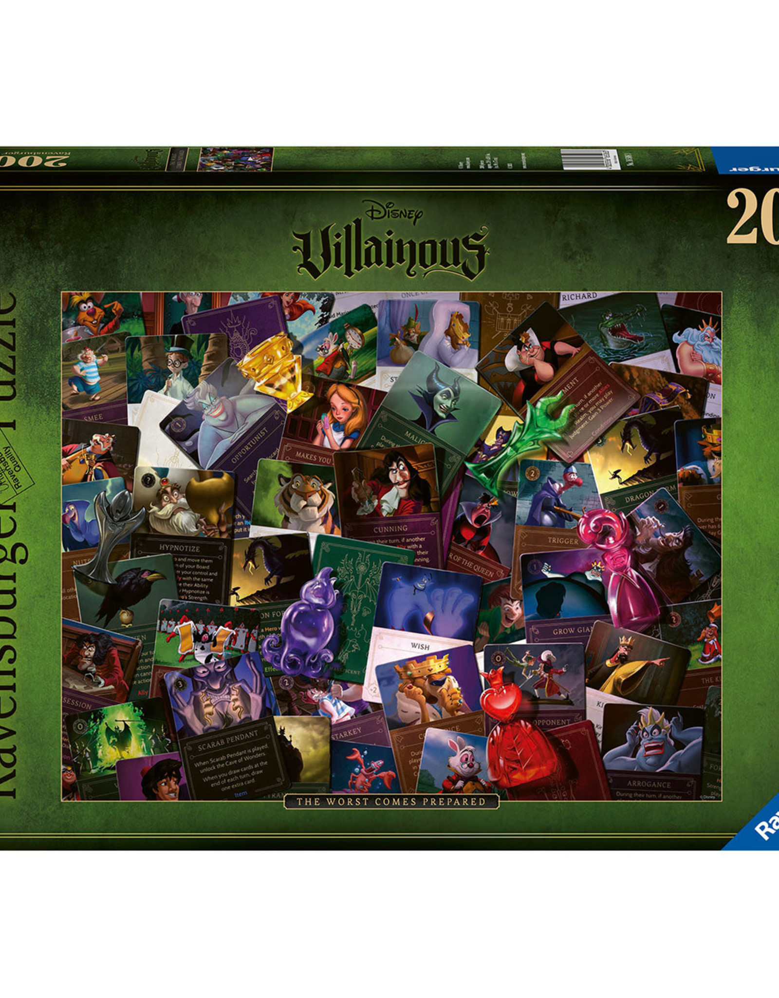 Ravensburger All Villains  (2000 pc)