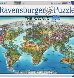 Ravensburger World Map (2000 pc)