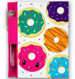 Scented Jelly Donut notebook with pen