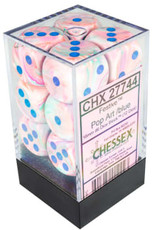 Chessex 12D6 POP-ART/BLUE 16MM